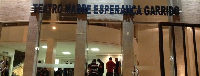 Teatro Madre Esperança Garrido is one of Pontos Turisticos Essenciais Goiania.