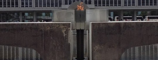 Peace Flame is one of for memorise.