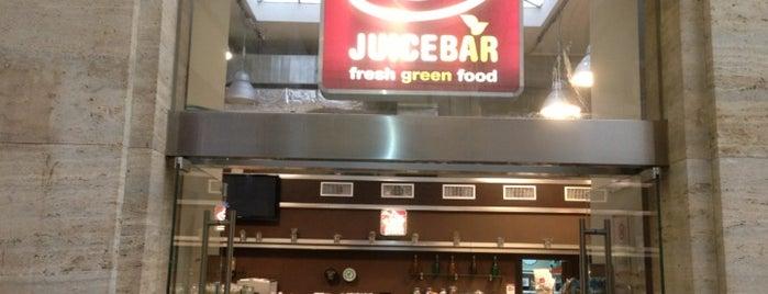 Juicebar is one of Vegetariano.