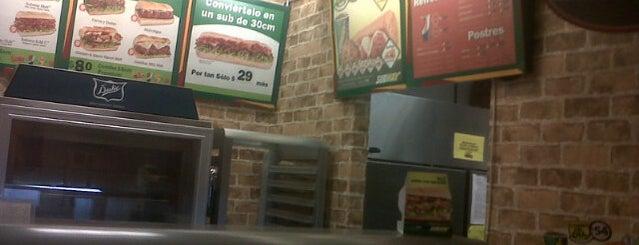Subway is one of Muchos.