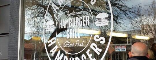 Andrew's Hamburgers is one of Australia City Guide.