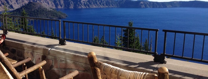 Crater Lake Lodge is one of Historic Hotels to Visit.