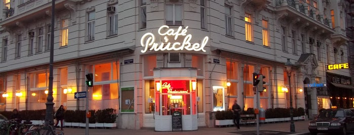 Café Prückel is one of Vienna.