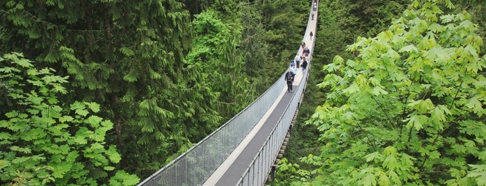Capilano Suspension Bridge is one of I Want Somewhere: Sights To See & Things To Do.