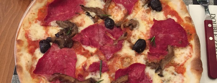 Double Zero Pizzeria is one of The 15 Best Places with Good Service in Ankara.