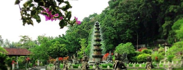 Tirta Gangga Water Palace is one of Bali.