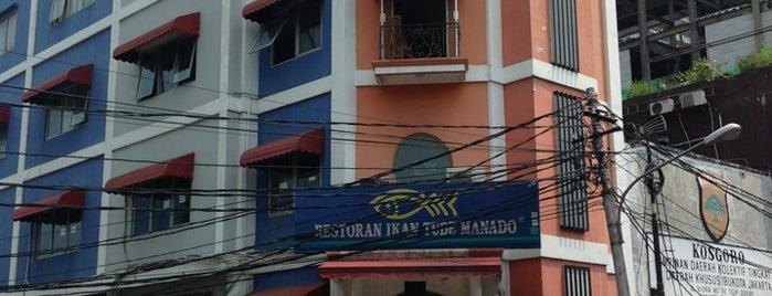 Restoran Ikan Tude Manado is one of Jakarta.