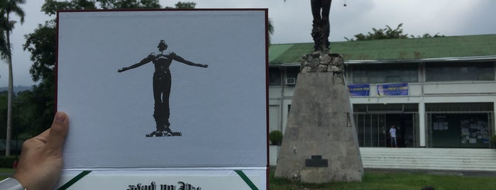 UP Oblation (Sam F. Trelease and Emma Sarepta Yule Park) is one of 1.