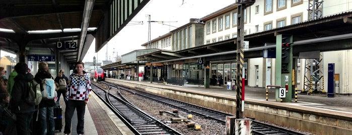 Trier Hauptbahnhof is one of Bahnhöfe Deutschland.