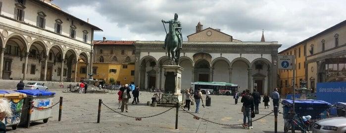 Piazza della Santissima Annunziata is one of Free WiFi - Italy.