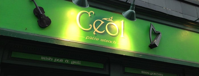 Ceol Pub & Grill is one of Open Mics NYC.