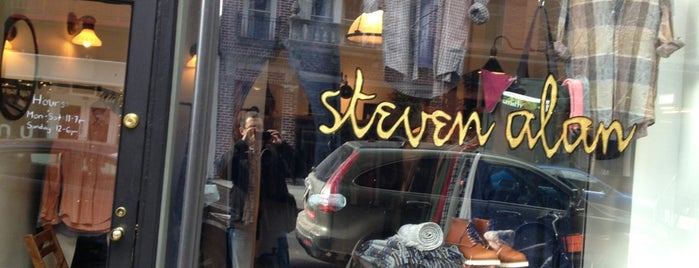 Steven Alan - Nolita (Men's) is one of DwellStudio's Guide to Soho.