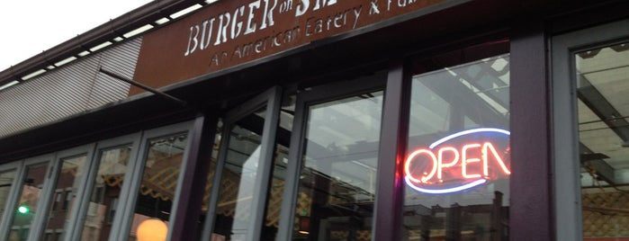 Burger on Smith is one of Must-See Cobble Hill.