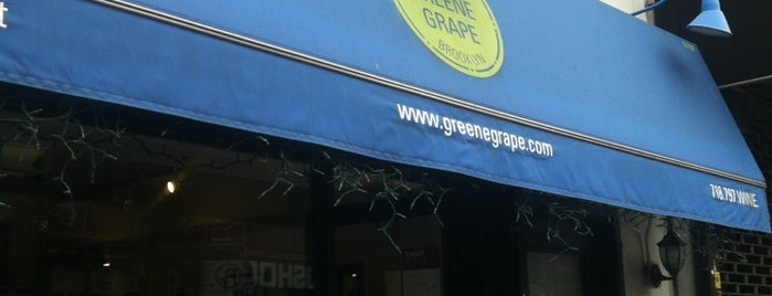 The Greene Grape Wine & Spirits is one of To Drink in Brooklyn.