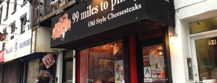99 Miles to Philly is one of The 15 Best American Restaurants in Greenwich Village, New York.
