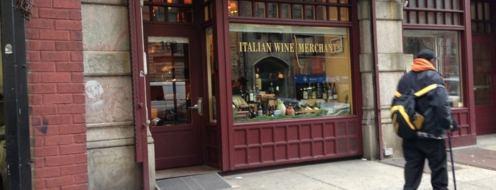 Italian Wine Merchants is one of My New York.