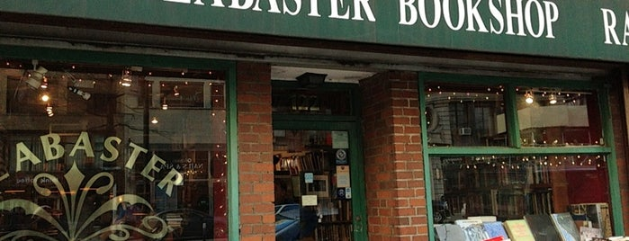Alabaster Bookshop is one of NYC Shopping.