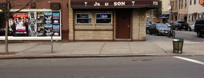 Jr. and Son is one of Comprehensive List of Bars in Williamsburg Bklyn.