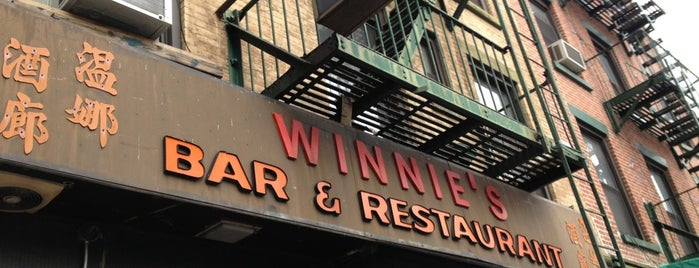Winnie's is one of 50 Best Dive Bars in NYC.