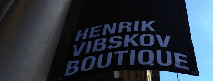 Henrik Vibskov is one of NYC SHOPS.