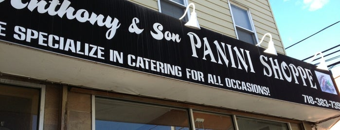 Anthony & Son Panini Shoppe is one of The 15 Best Places for Sandwiches in Brooklyn.