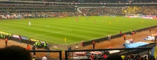 Estadio Azteca is one of ¡Cui Cui ha estado aquí!.