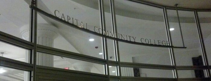 Capital Community College is one of Joe's Regular Stops.