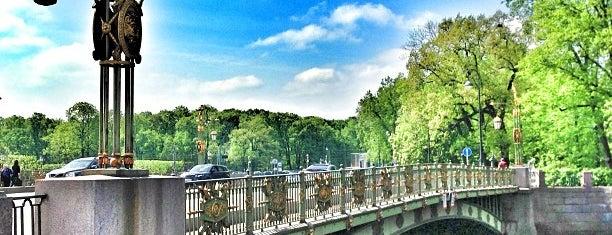 Пантелеймоновский мост is one of Санкт-Петербург.