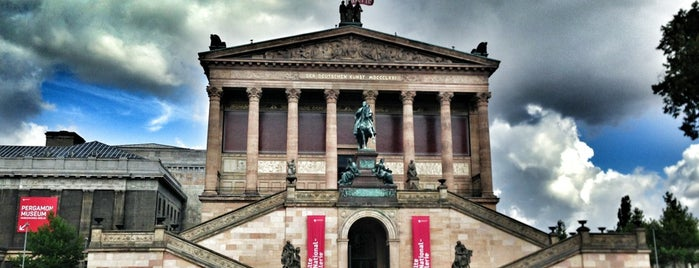 Old National Gallery is one of to do list in Berlin.