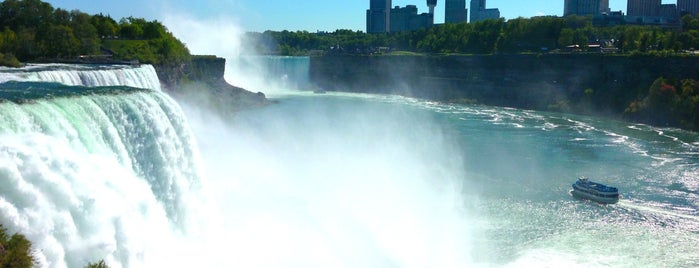 Parque de Estado de Niagara Falls is one of Go Ahead, Be A Tourist.