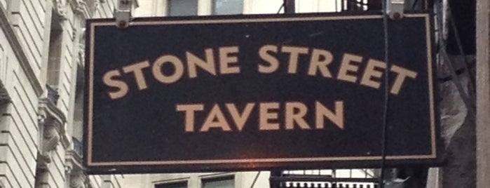 Stone Street Tavern is one of NYC Bucket List.