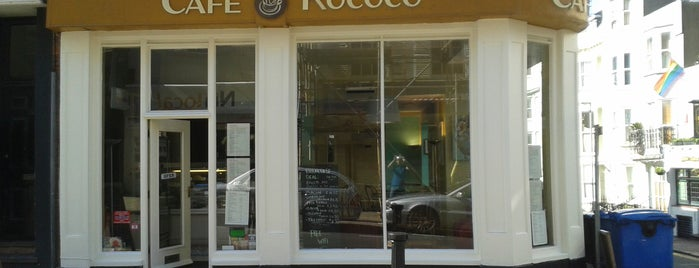 Cafe Rococo is one of Foodies.
