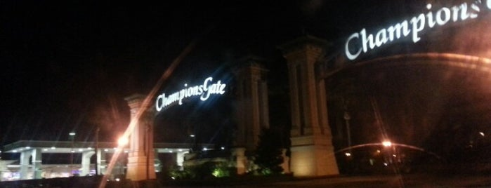 Champions Gate Sign is one of local.