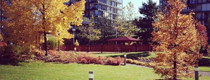 Central Park is one of Žižkovský průvodce Restaurace Záležitost.