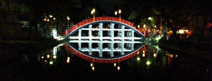 Sumiyoshi-taisha Shrine is one of Osaka.