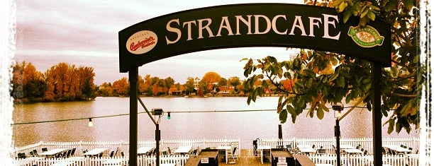 Strandcafe is one of Draußen.