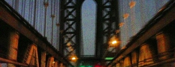 Manhattan Bridge North Plaque is one of NYC Monuments & Parks.