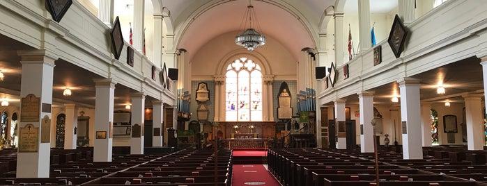 Saint Paul's Church is one of Halifax, NS.