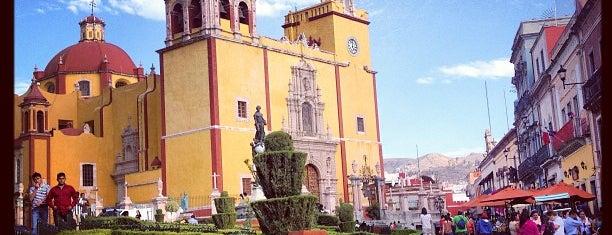 Plaza de La Paz is one of SMA + GTO.