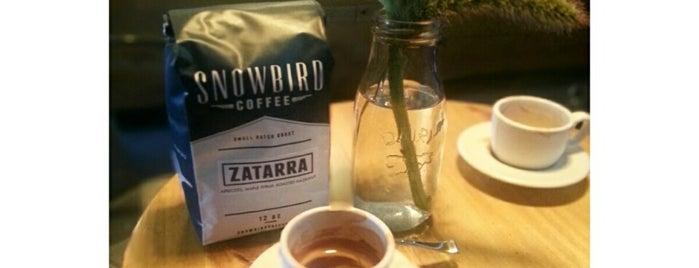 Snowbird Coffee is one of SF Coffee.