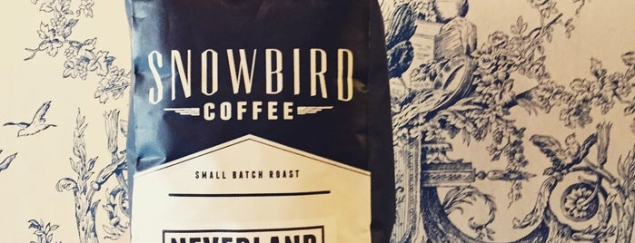 Snowbird Coffee is one of Coffee shops in SF.