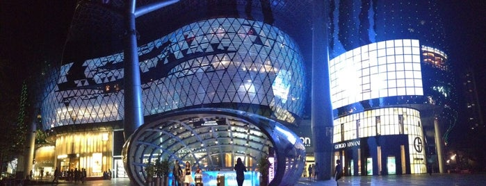 ION Orchard is one of Singapore Life.