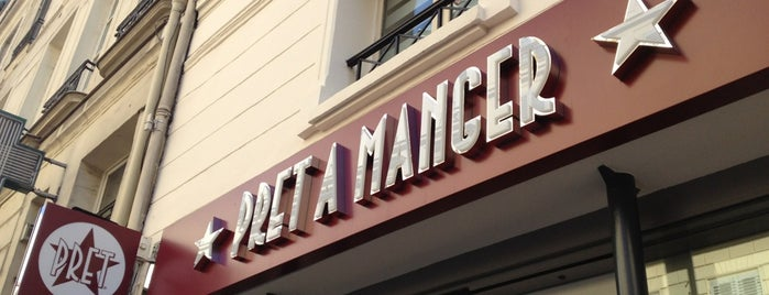 Pret A Manger is one of Paris.