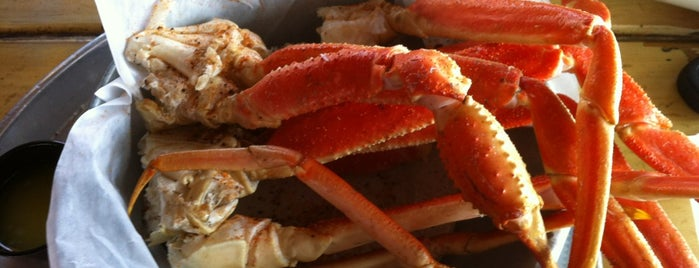 The Folly Beach Crab Shack is one of Food Worth Stopping For.