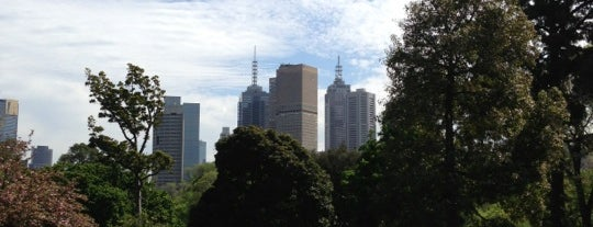 Fitzroy Gardens is one of Melbourne.
