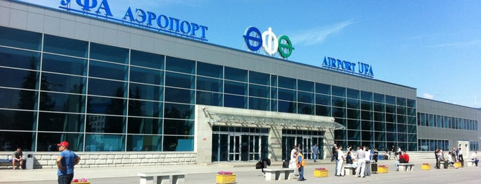 Ufa International Airport (UFA) is one of Airports in Europe, Africa and Middle East.