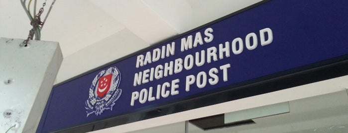 Radin Mas Neighbourhood Police Post is one of Singapore Police Force.