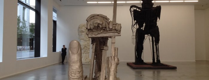 Hauser & Wirth is one of Galleries.