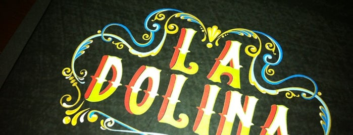 La Dolina is one of A.