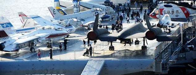 Intrepid Sea, Air & Space Museum is one of A New York City Minute! #NYCmustsee4sq.